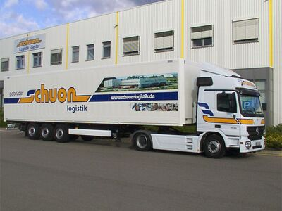 Schuon Logistik, Transport, Logistik